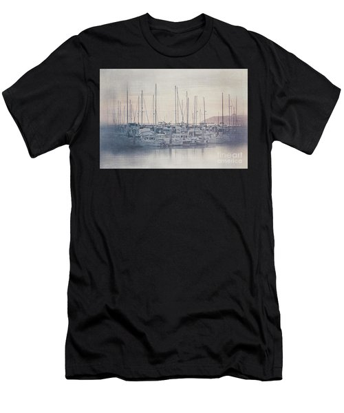 Sunset At The Marina Men's T-Shirt (Athletic Fit)