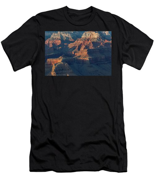 Sunset At The South Rim, Grand Canyon Men's T-Shirt (Athletic Fit)
