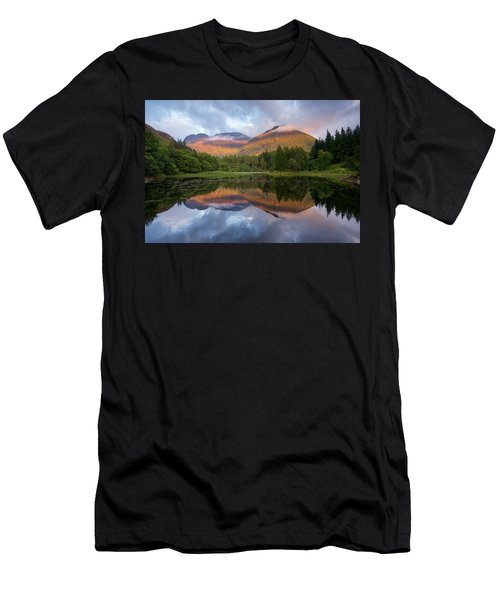 Sunset At Torren Lochan Men's T-Shirt (Athletic Fit)