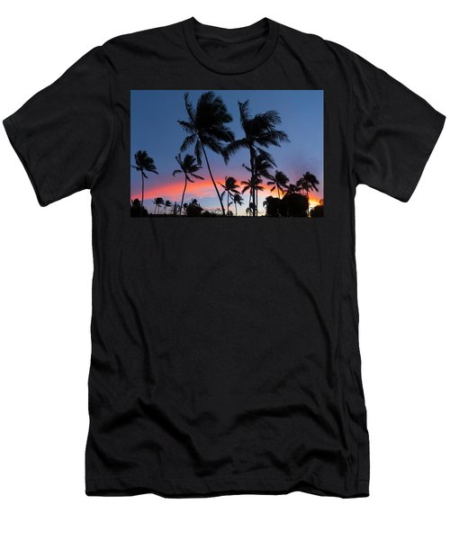 Sunset - Bow Men's T-Shirt (Athletic Fit)
