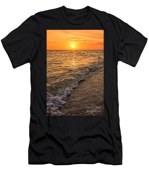 Sunset Bowman Beach Sanibel Island Florida  Men's T-Shirt (Athletic Fit)