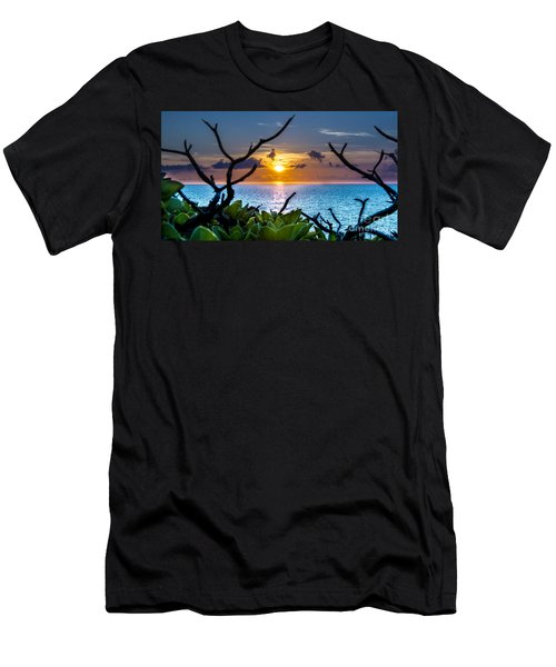 Sunset By The Point Men's T-Shirt (Athletic Fit)