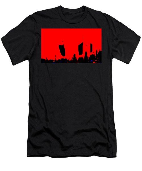 Sunset City Men's T-Shirt (Athletic Fit)