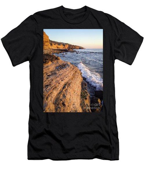 Sunset Cliffs, San Diego, California  -74706 Men's T-Shirt (Athletic Fit)