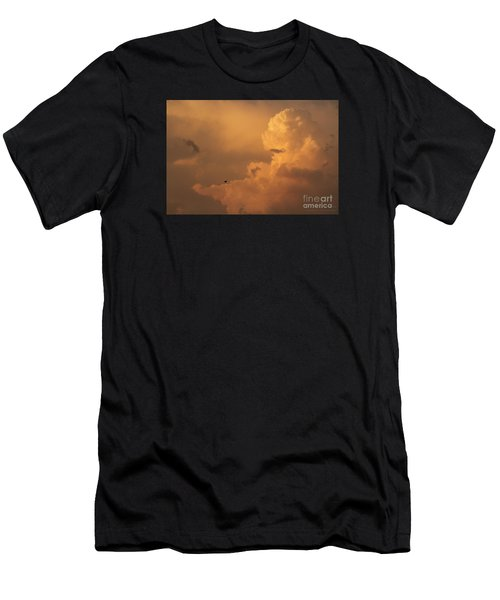 Sunset Clouds 01 Men's T-Shirt (Athletic Fit)