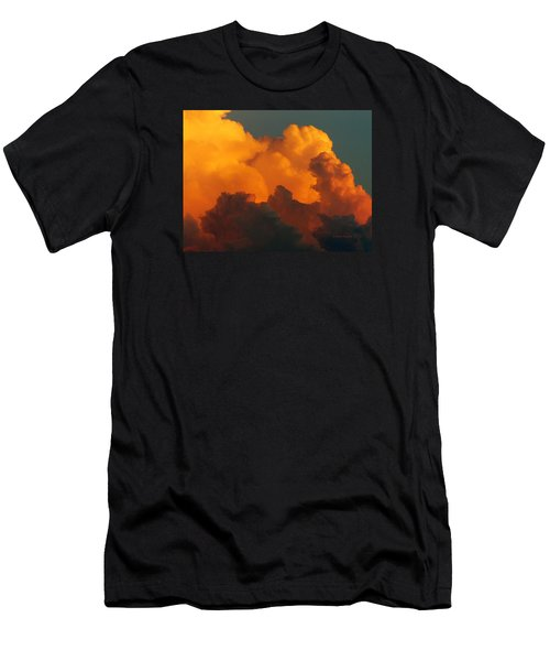 Sunset Clouds Men's T-Shirt (Slim Fit) by Jana Russon