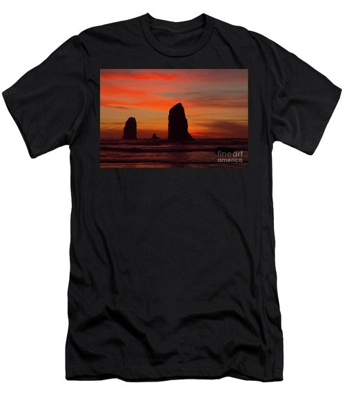 Sunset Coast Men's T-Shirt (Athletic Fit)