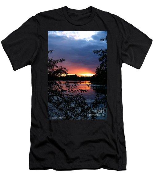 Sunset Cove Men's T-Shirt (Athletic Fit)