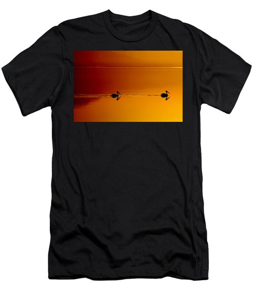 Sunset Cruising Men's T-Shirt (Athletic Fit)