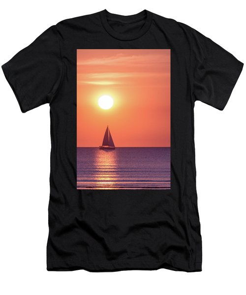 Sunset Dreams Men's T-Shirt (Athletic Fit)