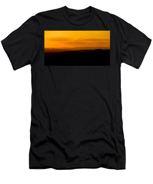 Men's T-Shirt (Slim Fit) featuring the photograph Sunset by Evgeny Vasenev