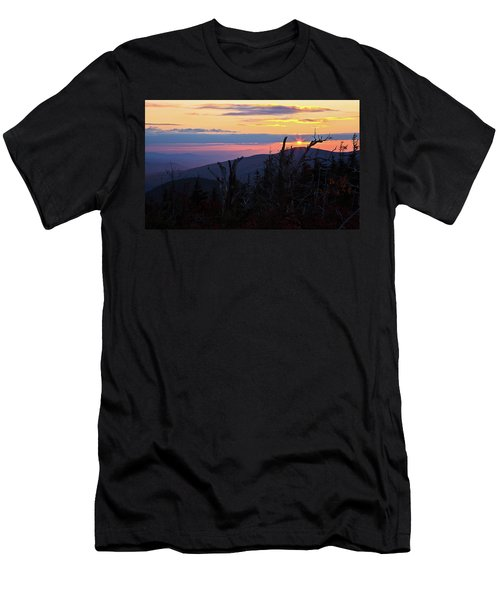 Sunset From Caps Ridge, Mount Jefferson Men's T-Shirt (Athletic Fit)