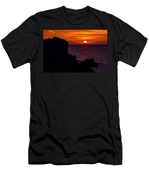 Sunset From Costa Paradiso Men's T-Shirt (Athletic Fit)