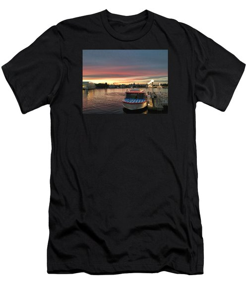 Sunset From The Boardwalk Men's T-Shirt (Athletic Fit)