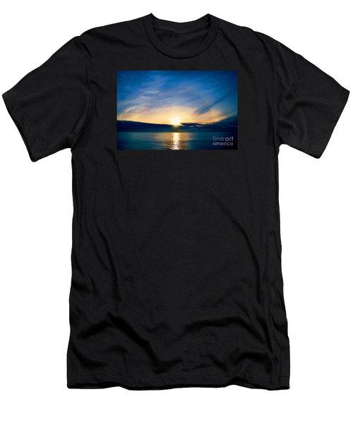 Shine Through Me Men's T-Shirt (Slim Fit) by Sharon Soberon