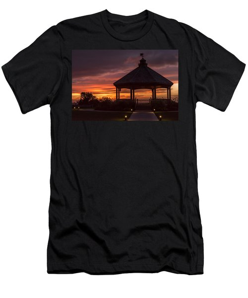 Sunset Gazebo Lavallette New Jersey Men's T-Shirt (Athletic Fit)