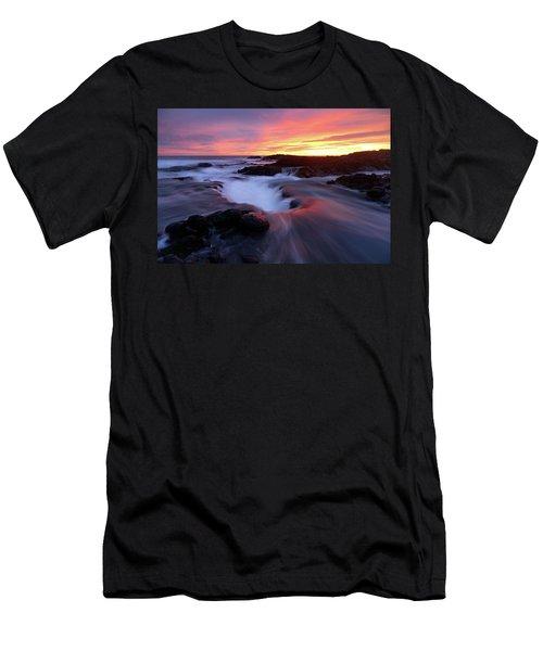 Sunset Glow Men's T-Shirt (Athletic Fit)