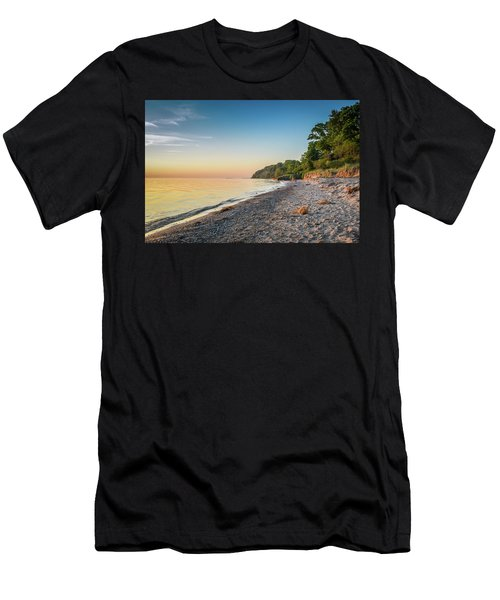 Sunset Glow Over Lake Men's T-Shirt (Athletic Fit)