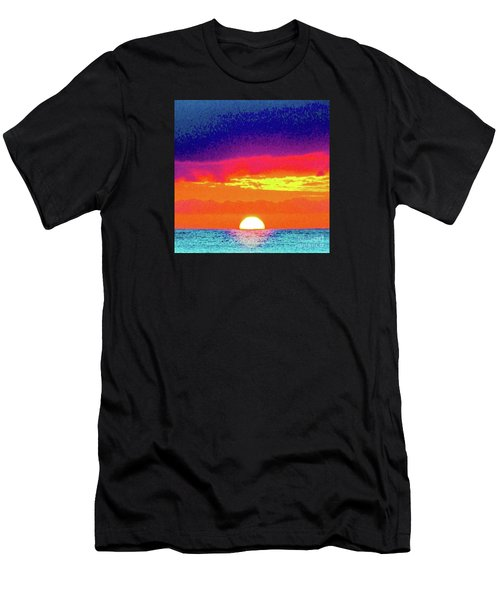 Sunset In Abstract 500 Men's T-Shirt (Athletic Fit)