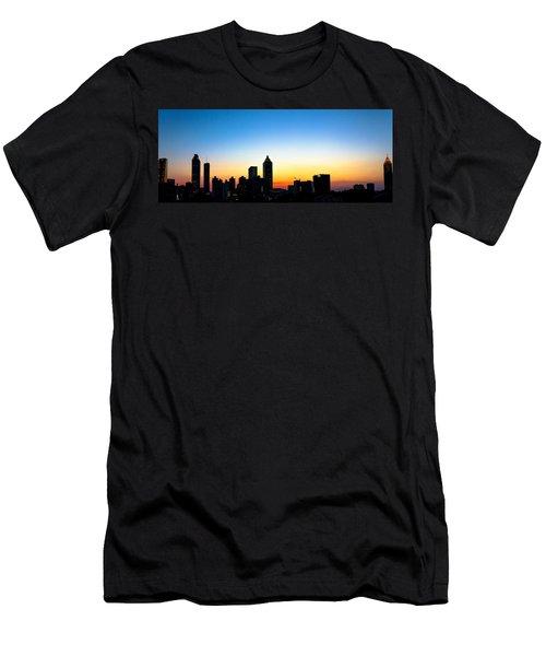 Sunset In Atlaanta Men's T-Shirt (Athletic Fit)