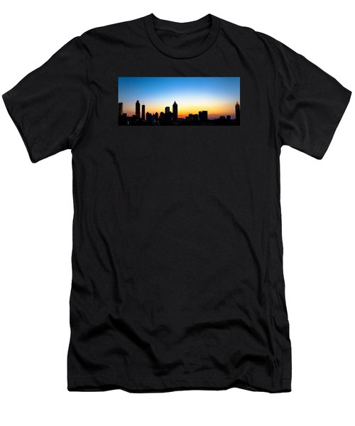 Sunset In Atlaanta Men's T-Shirt (Athletic Fit)