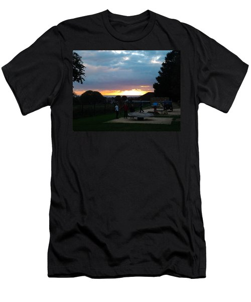 Sunset In Brighton Men's T-Shirt (Athletic Fit)