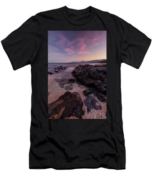 Sunset In Cala Gonone Men's T-Shirt (Athletic Fit)