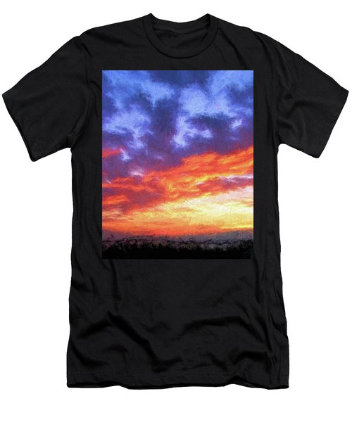 Sunset In Carolina Men's T-Shirt (Athletic Fit)