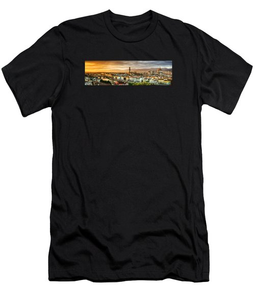 Sunset In Florence Men's T-Shirt (Athletic Fit)