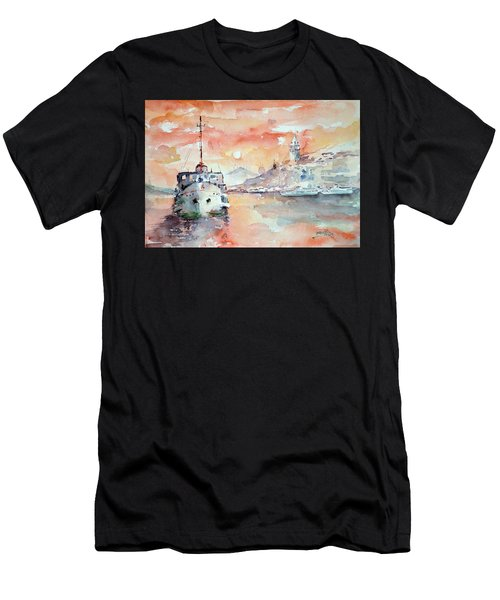 Sunset In Istanbul... Men's T-Shirt (Athletic Fit)