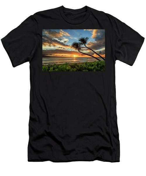 Sunset In Kaanapali Men's T-Shirt (Athletic Fit)