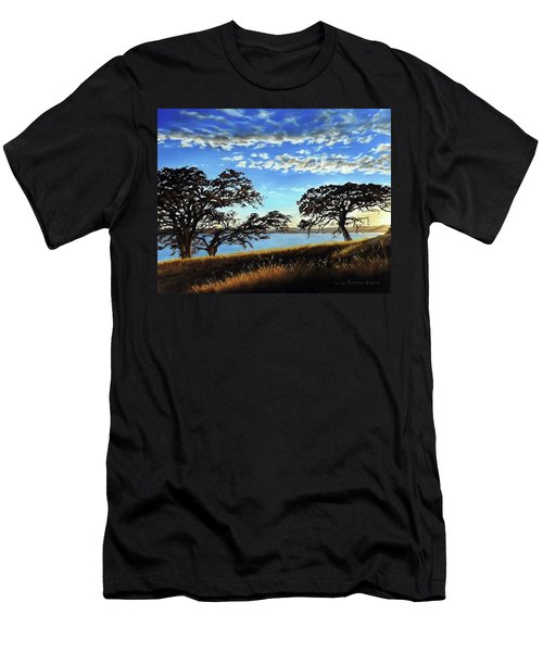 Sunset In Lucerne Men's T-Shirt (Athletic Fit)