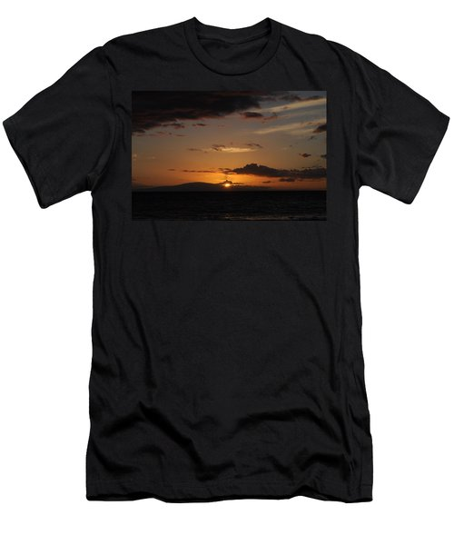 Sunset In Maui 2 Men's T-Shirt (Slim Fit) by Michael Albright