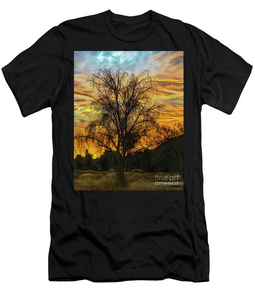 Sunset In Perris Men's T-Shirt (Athletic Fit)