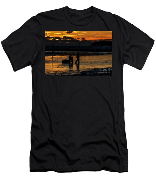 Sunset In Port Colborne Men's T-Shirt (Athletic Fit)