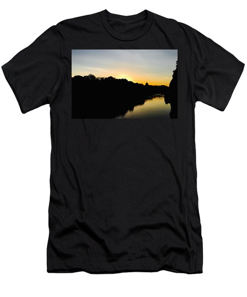Sunset In Rome Men's T-Shirt (Athletic Fit)