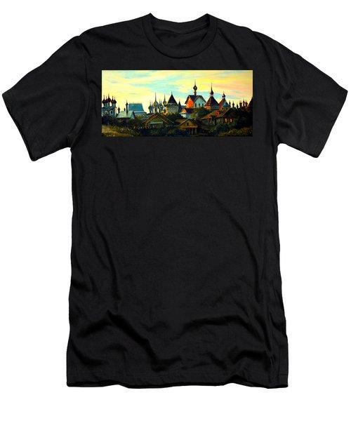 Sunset In Rostov Men's T-Shirt (Athletic Fit)