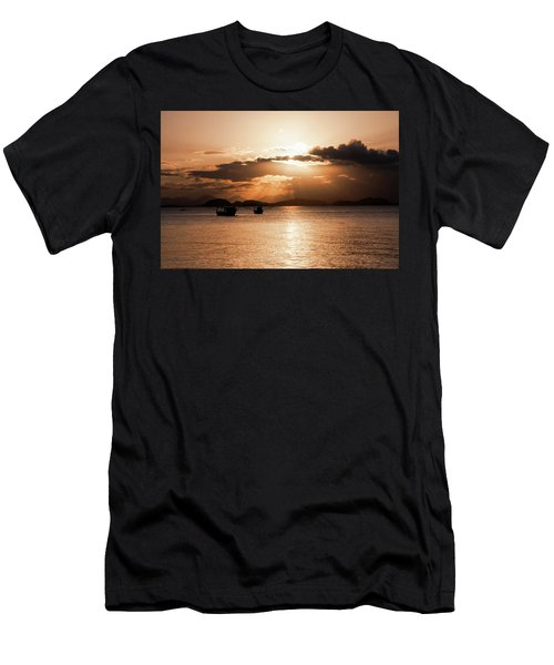 Sunset In Southern Brazil Men's T-Shirt (Athletic Fit)