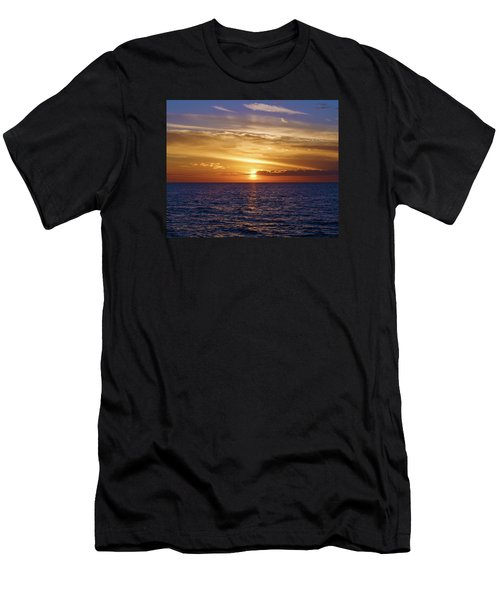 Sunset In Sw Florida Men's T-Shirt (Athletic Fit)