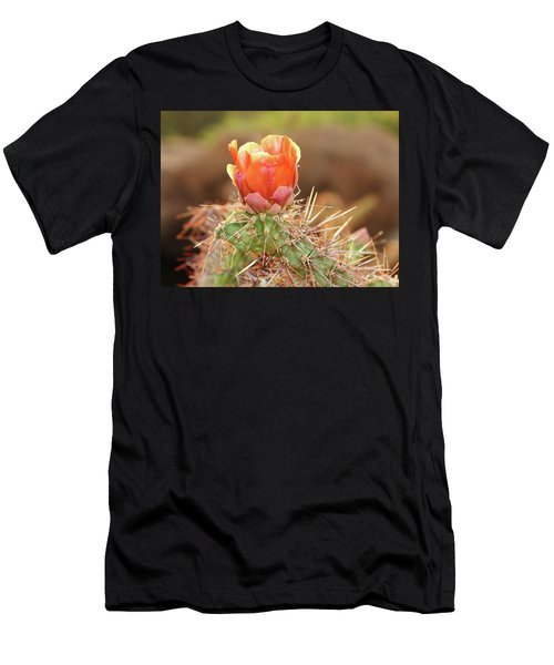 Sunset In The Deserts Men's T-Shirt (Athletic Fit)