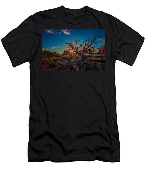 Sunset In The Devil's Garden Men's T-Shirt (Athletic Fit)