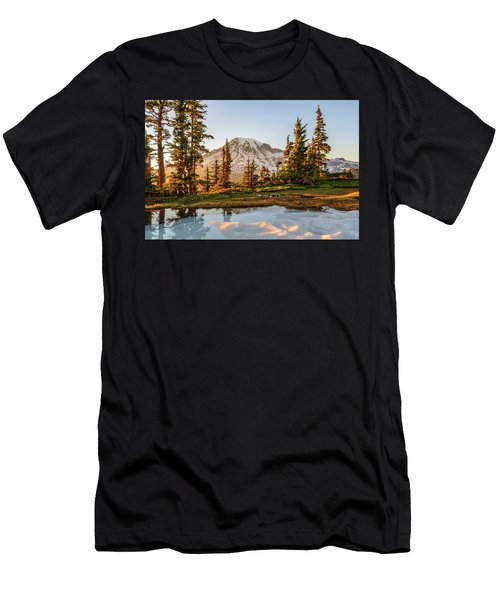 Sunset In The Pinnacle Saddle Men's T-Shirt (Athletic Fit)