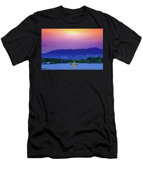 Sunset In Vancouver  Men's T-Shirt (Athletic Fit)
