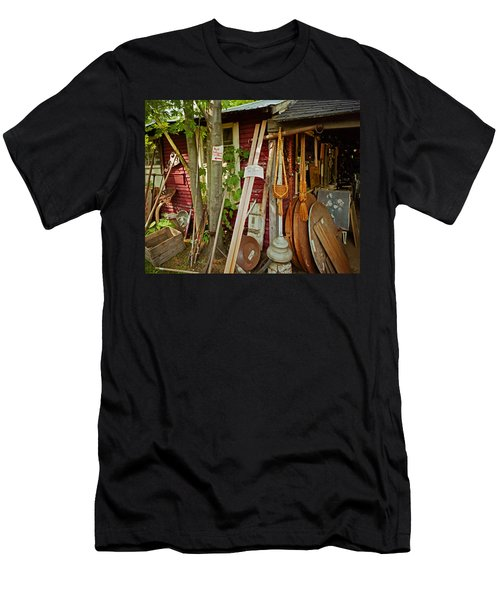 Sunset Jungle Antiques Men's T-Shirt (Athletic Fit)