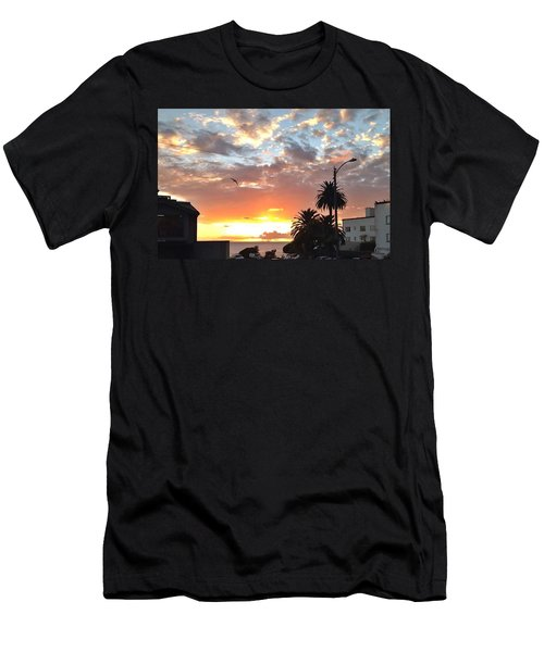 Sunset Laguna Oct 2015 Men's T-Shirt (Slim Fit) by Dan Twyman