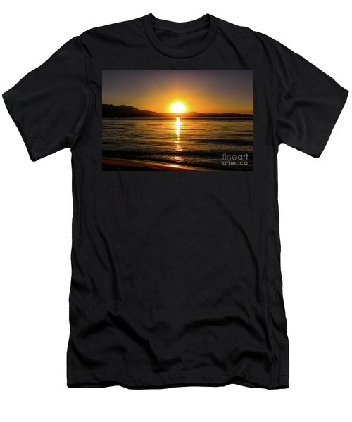 Sunset Lake 1 Men's T-Shirt (Athletic Fit)