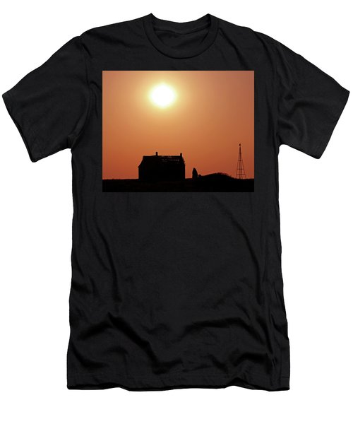 Sunset Lonely Men's T-Shirt (Slim Fit) by Christopher McKenzie