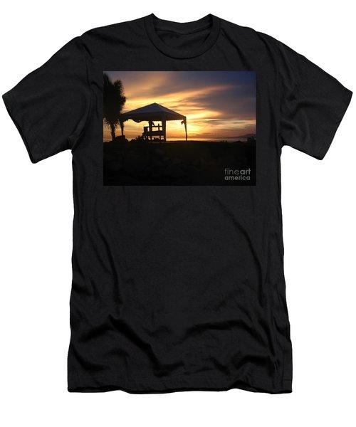 Sunset Massage Men's T-Shirt (Athletic Fit)