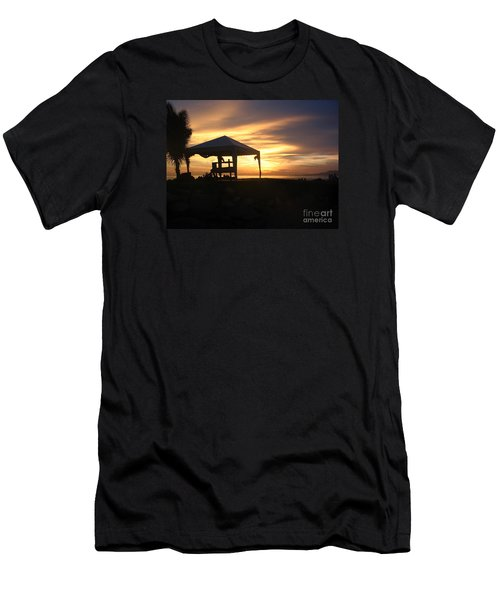 Sunset Massage Men's T-Shirt (Athletic Fit)