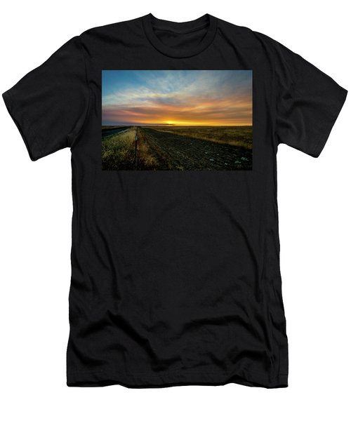 California Sunset Men's T-Shirt (Athletic Fit)